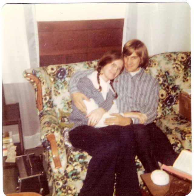 Our first Christmas 12-'73